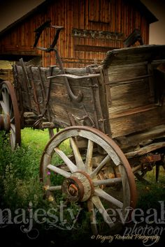 Old wagon, ghost town wagon, old west wagon from Nevada City by Majesty Revealed Photography