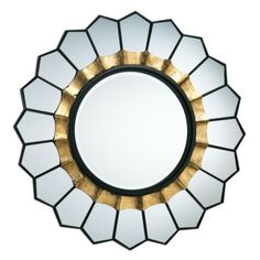 Fiore Mirror from Z Gallerie  possible powder room
