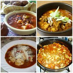 50 Hot and Hearty Soups - enjoy the original comfort food with these delicious and easy soup recipes.