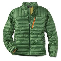 Don't wear more layers to keep warm this winter; simply wear a more efficient one. Insulated by 800-fill down, the Targhee Lightweight Down Jacket retains warmth without the additional bulk. Lightweight and easy wearing, it packs into its own interior pocket for quick storage. Jacket features one chest pocket, two tricot-lined handwarmer pockets, and grosgrain trim to prevent zipper catching. Internal stretch mesh pocket stores hats and gloves. Shell: 100% polyester ripstop weave with…