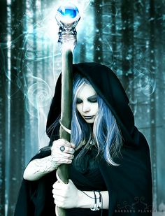 ✯ Frozen sorceress .. By *Barbaraplanche*✯