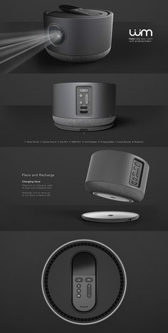 FINALLY, A PROJECTOR TO BE PROUD OF! Read Full Story at Yanko Design