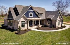 The Austin plan 1409! Built by Jimmy Nash Homes. #WeDesignDreams #DonGardnerArchitects