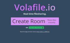 Volafile es un servicio gratuito para crear, de forma anónima, salas de chat donde compartir archivos, conversar con amigos y escuchar música online.