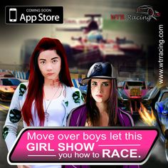 Move over boys let this girl show you how to race. #Carrace #Girlracers #Fastcars