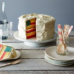 Flag Cake + 4th of July Essentials: http://food52.com/blog/10522-our-4th-of-july-party-planning-list #Food52