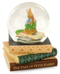 Peter Rabbit Musical Water Globe  Barnes and Noble-- I have never seen it at B-hmmmmm
