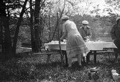 Coffe table at Tyresö, Södermanland, Sweden. Berit Wallenberg.  1930.