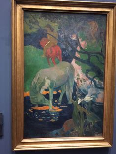 Le cheval blanc, Paul Gauguin