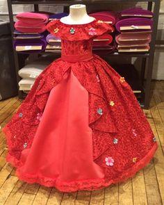 Elena de Avalor vestido Pre orden por EllaDynae en Etsy