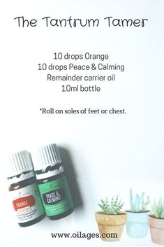 The Best Essential Oil Roller Bottle Recipes | Young Living Essential Oils