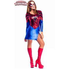 #Disfraz de #Spiderwoman #Marvel #Spiderman #Spidergirl