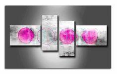 MA_030 / Cuadro Abstracto rosa