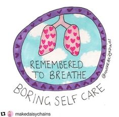 I love this! What's your 'boring' self-care practice?  Gretchen Miller|@makedaisychains|selfcare|positive affirmations|healingarts|breath