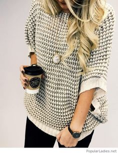 awesome-fall-winter-sweater-with-black-pants