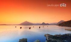 An Elgol, Isle of Skye sunset. Breathtaking and inspiring.