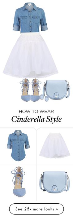 """""""modern cinderella"""" by ele88na on Polyvore featuring rag & bone, Kristin Cavallari, Cara, WithChic and modern Diy Cinderella Costume, Cinderella Outfit, Cinderella Party, Disney Bound Outfits, Disney Inspired Outfits, Disney Style, Modern Outfits, Casual Outfits, Cute Outfits"""