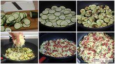 Sartenada De Calabacin Con Queso Y Jamon Tres Ingredientes Lunch Meal Prep, International Recipes, Tapas, Food And Drink, Low Carb, Keto, Yummy Food, Healthy Recipes, Snacks