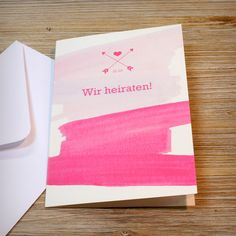 Kreative Hochzeitseinladungen von PaperShaker ~ Hochzeitspapeterie zum Verlieben!