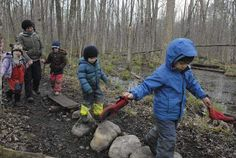 A new frontier: Waldorf School of Saratoga Springs' Forest Kindergarten inspiring other outdoor programs (with video)