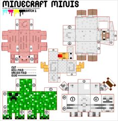 minecraft mini's diy