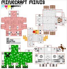 minecraft mini's diy
