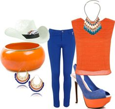 """""""Broncos Party"""" by andrea-m-propst on Polyvore"""