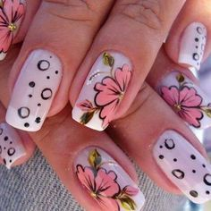 trends4everyone: NEW NAILS ARTS IDEAS on We Heart It
