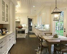 Homely: The property has plenty of rustic touches