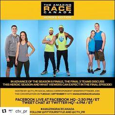 Amazing Race, Canada, Social Media, Social Networks