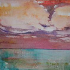 """Saatchi Art Artist Alexandra Steele-Mortimer; Painting, """"Turquoise Sea"""" #art"""