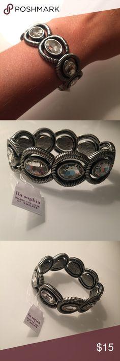 Lia Sophia bracelet Brand new with tags. Perfect condition. Gorgeous bracelet! Lia Sophia Jewelry Bracelets