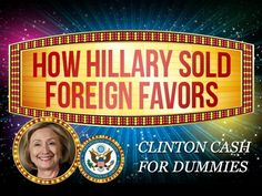 Do we want another liar, cheat, LIAR, in the WH?  How Hillary Sold Influence... while killing Americans?