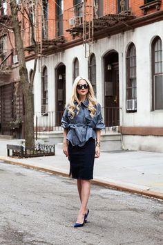 Atlantic Pacific / denim // denim // denim //  #Fashion, #FashionBlog, #FashionBlogger, #Ootd, #OutfitOfTheDay, #Style