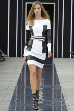 Maxime Simoens 2014 Dress Black & White Love it.