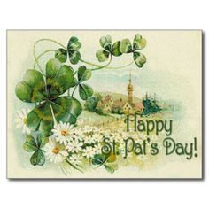 ==>>Big Save on          	Vintage Shamrock Church Village St Patrick's Day C Postcards           	Vintage Shamrock Church Village St Patrick's Day C Postcards In our offer link above you will seeShopping          	Vintage Shamrock Church Village St Patrick's Day C Postcards Online ...Cleck Hot Deals >>> http://www.zazzle.com/vintage_shamrock_church_village_st_patricks_day_c_postcard-239894355625251298?rf=238627982471231924&zbar=1&tc=terrest