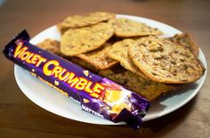 Violet Crumble Cookies