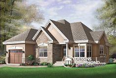 Plan de maison no. W3222 de DessinsDrummond.com