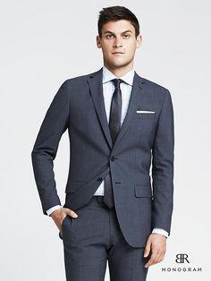 jacket I'll be wearing - Modern Slim Blue Italian Wool Suit Jacket Tuxedo Wedding, Wedding Men, Wedding Suits, Mens Italian Suits, Bride Suit, Plaid Suit, Linen Suit, Suits For Sale, Work Suits