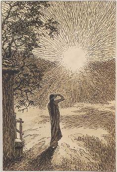 Sunrise, Erwin Stolz. Austrian (1896 - 1987)