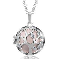 Bola De Grossesse Harmony En Argent Boule Arbre de Vie Washer Necklace, Jewelry, Balls, Tree Of Life, Mom, Silver, Jewellery Making, Jewerly, Jewelery