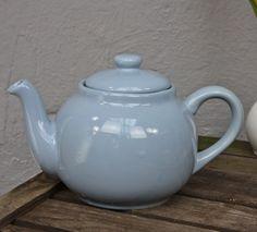 Teekanne blau Keramik von Plint