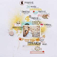 paper: pretty paper. true stories. {and scrapbooking classes with cupcakes.}: Five ways to Use Mists on a Scrapbook Layout By Corrie Jones