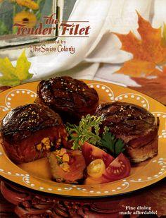 Tender Filet cover for 2001.