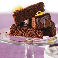 Orange-Infused Chocolate Almond Cake