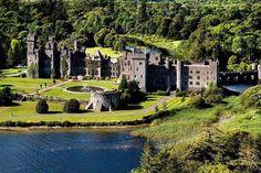 Ashford Castle, Ireland where reign is filmed