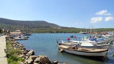 Akbük ist umgeben von Bergen und Kieferwäldern - ein kleines Paradies.