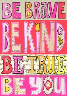 susan black design: new giclee prints ! Positive Thoughts, Positive Vibes, Positive Mind, Happy Thoughts, Positive Quotes, Quotable Quotes, Me Quotes, Susan Black, Pink Wall Art