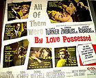 BY LOVE POSSESSED - 6 SHEET 81X81 ORIGINAL MOVIE POSTER LANA TURNER - NEAR MINT+ - 81X81, LANA, LOVE, MINT, Movie, NEAR, ORIGINAL, POSSESSED, Poster, sheet, TURNER