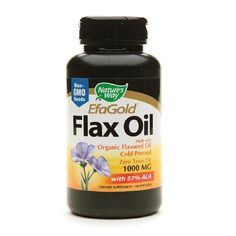 38% Off was $52.45, now is $32.52! Essential Fatty Acids - Plant Source Flax Oil 1000mg 100 Softgels ( Pack of 5)